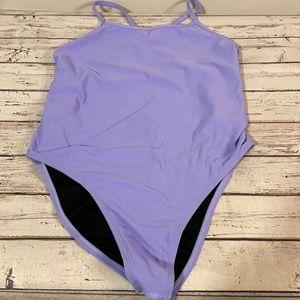 Jolyn Brandon 2 Lilac Fixed Back Swimsuit